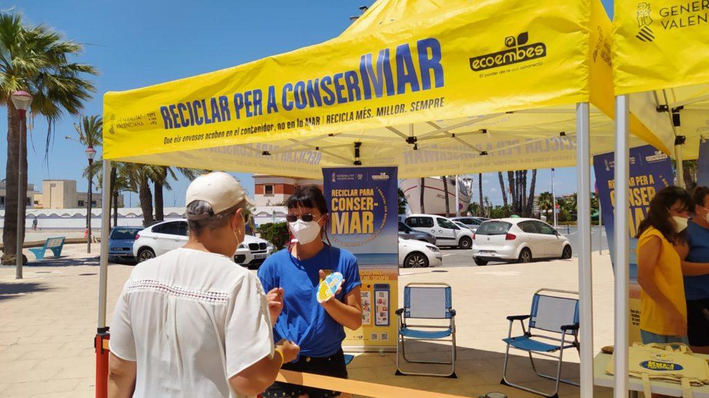 Reciclar para ConserMar 2021. Santa Pola